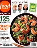 food network magazine march 2010